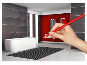 Projektowanie łazienek Phu Czajka Hurtownia Wykładzin