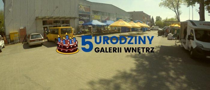 Relacja Wideo – 5 urodziny Galerii Wnętrz.